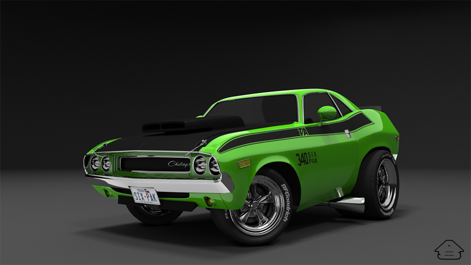 Old models, new renders. Muscle cars! | Foundry Community